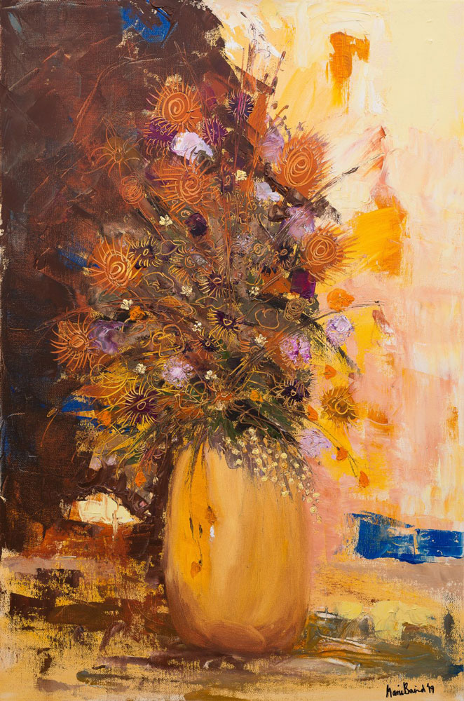 Marie Baird - Bright New Day - oil on canvas