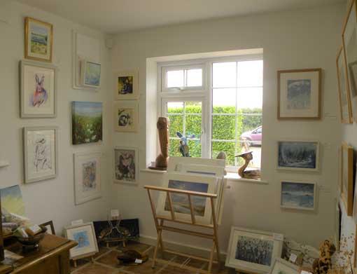 Inside The Garage Studio Art Gallery Ringstead